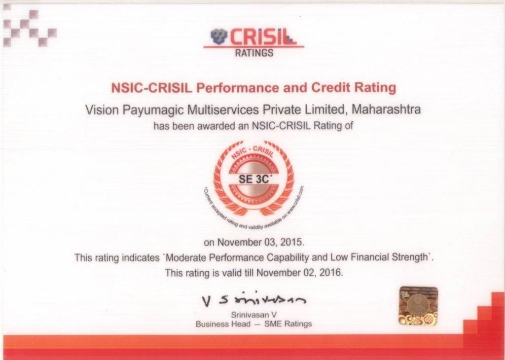 CRISIL Rating Certificate 150kadum