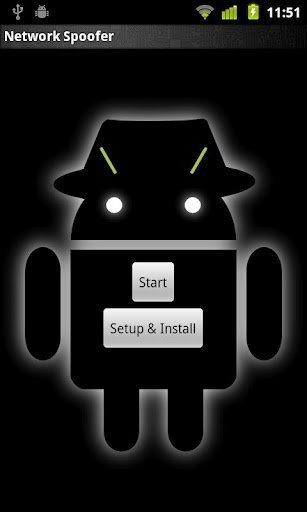 network spoofer hack wifi network android