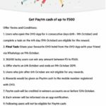 Oyo App – Get Paytm Cash Upto ₹500 for Free