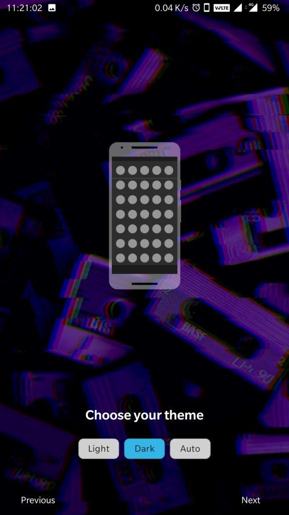nova-launcher prime apk dark mode
