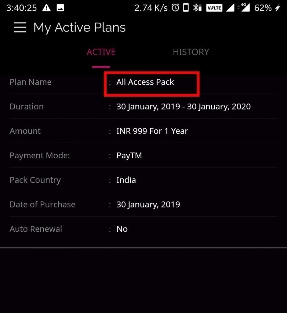 zee5 premium account username password